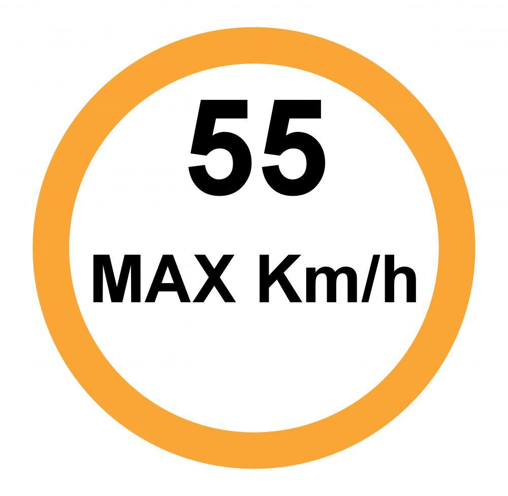 55 Km/h MAX