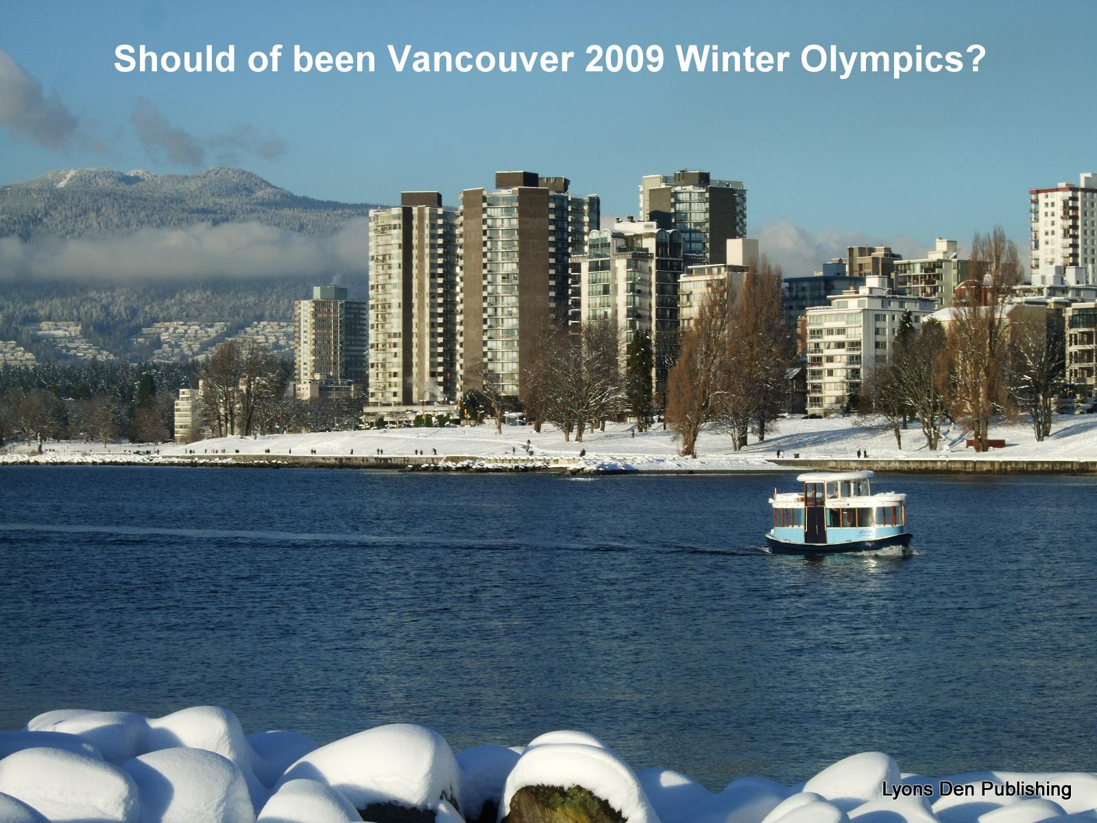 Weather Vancouver: Compare Pictures Of Snowy Vancouver 2009 And Warm 2010