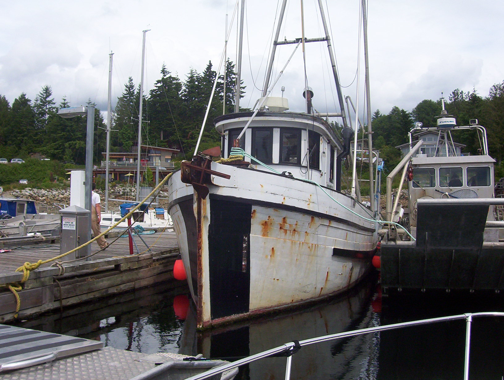 Fishing boat in lund bc for Head boat fishing near me